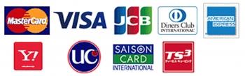 『カード会社ロゴ』の画像