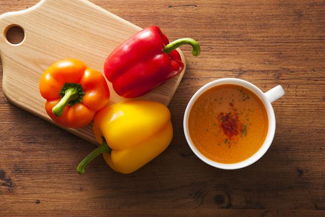 『美浦産パプリカのスープ02』の画像