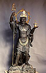『『毘沙門天(県指定)』の画像』の画像