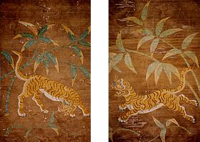 『虎の刺繍(県指定)』の画像