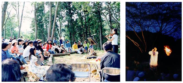 『縄文の森コンサート』の画像